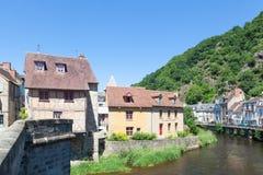 Juni 2015, Aubusson, Creuse, Limousin, Frankrijk Stock Fotografie