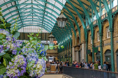 12. Juni 2015 Covent-Garten, London, Großbritannien, innerhalb des Victorianatriums Lizenzfreies Stockfoto
