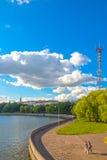 24 juni, 2015: Het centrum van Minsk, Wit-Rusland Stock Fotografie