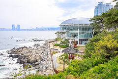 21. Juni 2017 ist das Nurimaru APEC auf DongbaekseomIsland stockfotografie
