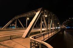23. Juni 2017 Krungthep-Brücke Bangkok, Thailand Bascule brid Stockfotos