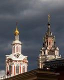 Juni 04 2017 moscow russia Kloster av den heliga Mandylionen Royaltyfri Foto