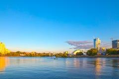 24. Juni 2015: Nemiga, Weißrussland Minsk Lizenzfreie Stockfotos