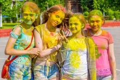 Juni 19, 2016, Orekhovo-Zuevo, Moskvaregion, Ryssland Festiven Royaltyfri Foto