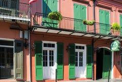 JUNI 2016 - Pat O'Briens i New Orleans, Louisiana Fotografering för Bildbyråer