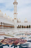JUNI 5: Sheikh Zayed Mosque Royaltyfria Foton