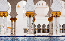 5. JUNI: Sheikh Zayed Mosque Lizenzfreie Stockbilder