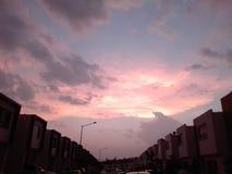 Juni-Sonnenuntergang 2 Lizenzfreie Stockfotografie
