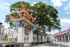 Juni 11, Taoisttempel på Manila den kinesiska kyrkogården, Manila, Phi Fotografering för Bildbyråer