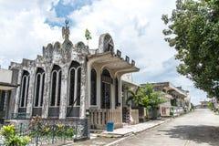 Juni 11, Taoisttempel på Manila den kinesiska kyrkogården, Manila, Phi Arkivbild