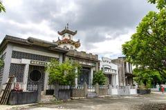 Juni 11, Taoisttempel på Manila den kinesiska kyrkogården, Manila, Phi Royaltyfri Foto