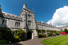 Juni 6th, 2017, kork, Irland - Cork College University Arkivbilder