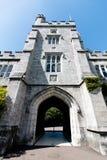 Juni 6th, 2017, kork, Irland - Cork College University Fotografering för Bildbyråer