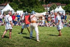 10-11 Juni 2017 Vienne Frankrike Historisk festival för Gallo-romare dagar Royaltyfria Bilder