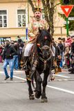 Junii Brasovului parade, Brasov royalty free stock photo