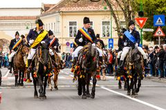 Junii Brasovului parade, Brasov Stock Photos