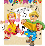Junina Party Theme Royalty Free Stock Image