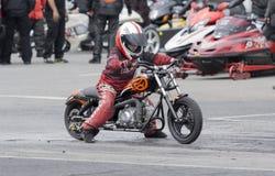 Junior biker Royalty Free Stock Photo