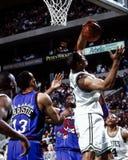 Junior Burroughs Boston Celtics #5 Arkivfoton