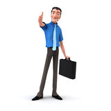 Junior Businessman Stock Photos