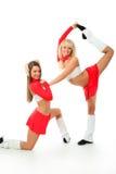 Junior cheerleader Royalty Free Stock Photography