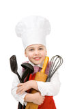 Junior cook Royalty Free Stock Photos
