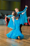 Junior Dance Couple Stock Image