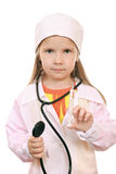 Junior doctor Stock Image