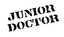 Junior Doctor rubber stamp Royalty Free Stock Photography