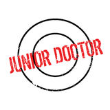 Junior Doctor rubber stamp Stock Images