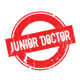 Junior Doctor rubber stamp Royalty Free Stock Image