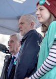 Junior Doctors March no Downing Street Imagens de Stock