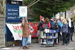 Junior Doctors Strike Fotografia Stock