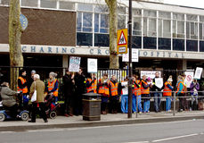 Junior Doctors' Strike stock image