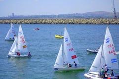 Junior European Championship Sailing 2015 Imágenes de archivo libres de regalías