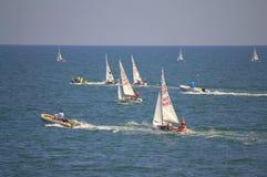 Junior European Championship Sailing 2015 Royalty Free Stock Photography