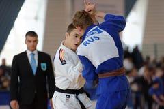 Junior European Judo Cup 2016 Royalty Free Stock Images