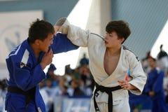Junior European Judo Cup 2016 Stock Afbeelding