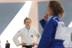 Junior European Judo Cup 2016 Royalty Free Stock Photography