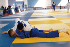 Junior European Judo Cup 2016 Stock Photo