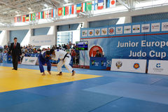 Junior European Judo Cup 2016 Stock Photography
