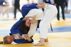 Junior European Judo Cup 2016 Stock Images