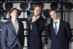 Junior Executives royalty free stock photos