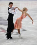 Junior Ice Dance competition Royalty Free Stock Photo