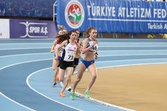 Junior Indoor Championships Istanbul balcánico 2017 imágenes de archivo libres de regalías
