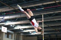 Junior Indoor Championships Istanbul balcánico 2017 imagen de archivo