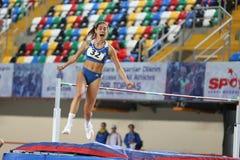 Junior Indoor Championships Istanbul balcánico 2017 fotografía de archivo