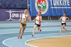 Junior Indoor Championships Istanbul balcánico 2017 foto de archivo