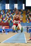 Junior Indoor Championships Istanbul balcánico 2017 fotos de archivo