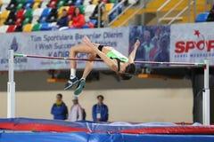 Junior Indoor Championships Istanbul balcánico 2017 foto de archivo libre de regalías